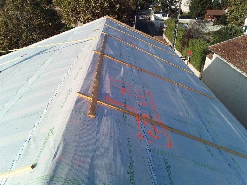 Isolation et r novation d 39 un toit m thode sarking sur thil for Isolation d un toit