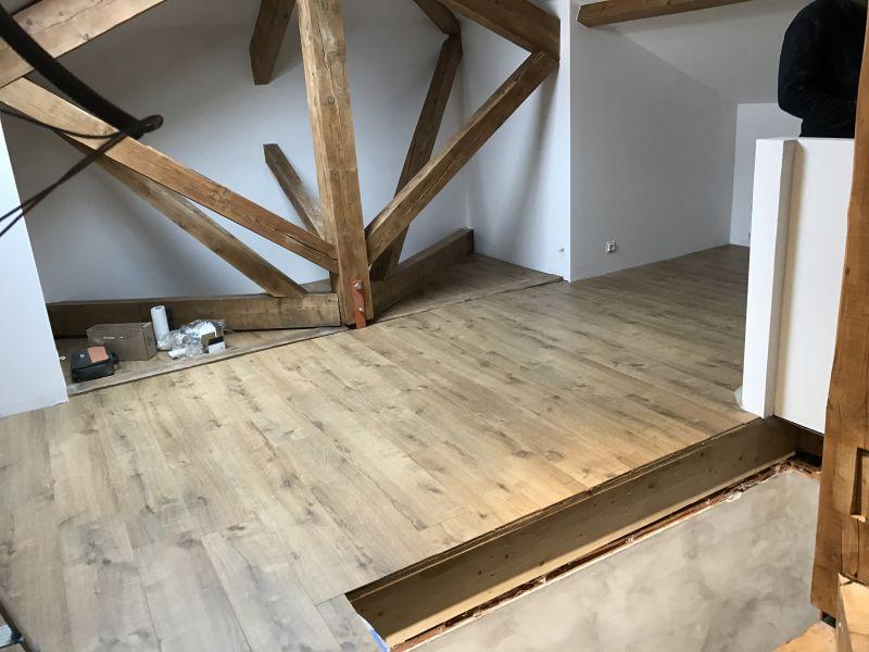 Aménagement d\' une chambre dans des combles sur Chavagneux ...
