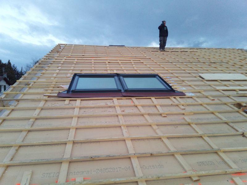 Isolation et r novation d 39 un toit m thode sarking sur thil for Methode sarking en renovation