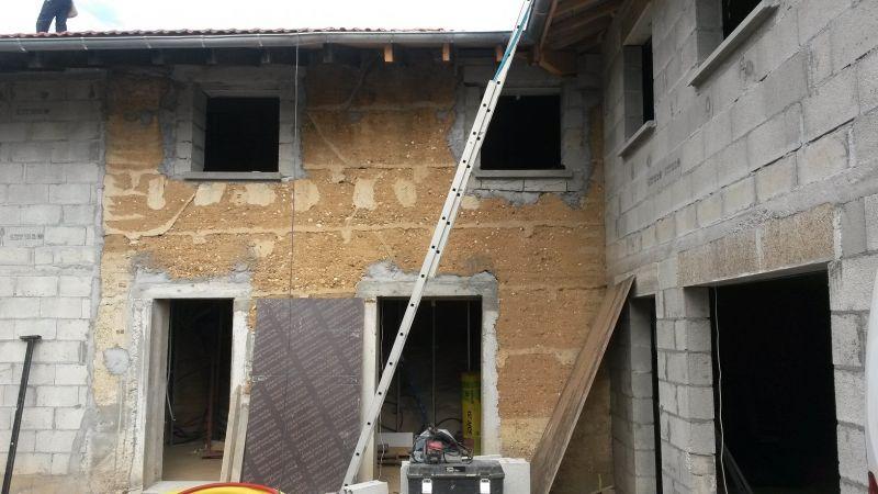 R novation d 39 une grange en maison d 39 habitation sur - Renovation d une grange en maison d habitation ...