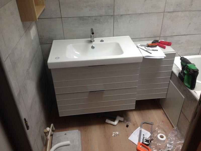 Plomberie Du0027 Une Salle De Bains Lyon 69003 ...