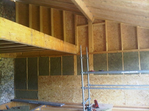Renovation D Une Grange En Maison D Habitation Sur Annoisins