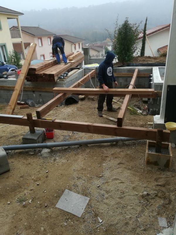 Construction D Une Terrasse Dallee Pour Piscine Avec